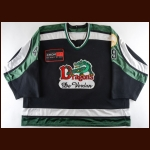 2003-04 Jason Clarke Verdun Dragons Game Worn Jersey - Career Best 657 PIMS Season