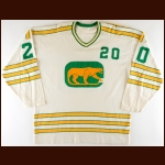 1972-73 Duke Harris & Pierre Viau WHA Chicago Cougars Game Worn Jersey - Inaugural Season - The Twin Cities WHA Find