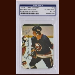 Bryan Trottier 1976 Topps Glossy – New York Islanders - Autographed – PSA/DNA