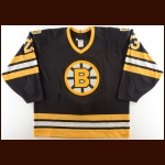 1993-94 Steve Heinze Boston Bruins Game Worn Jersey