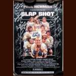 """Slap Shot"" Cast Members Autographed Mini Poster"