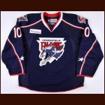 2013-14 Marko Dano Springfield Falcons Game Worn Jersey - Photo Match  - AHL Letter