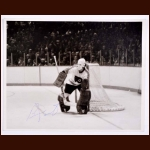 Bernie Parent Philadelphia Flyers Autographed 8x10 B&W Photo