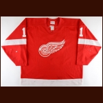 1993-94 Shawn Burr Detroit Red Wings Game Worn Jersey