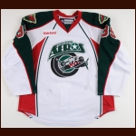 2011-12 Chay Genoway Houston Aeros Game Worn Jersey - Photo Match – Team Letter