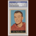 Murray Oliver 1960 Parkhurst - Detroit Red Wings - Autographed - Deceased - PSA/DNA