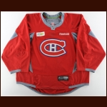 2014-15 Carey Price Montreal Canadiens Practice Worn Jersey – Autographed