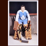 Bernie Parent Toronto Maple Leafs Autographed Color Postcard