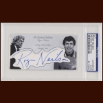 Roger Neilson Autographed Card - The Broderick Collection - Deceased