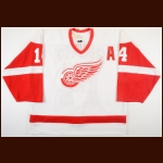 2001-02 Brendan Shanahan Detroit Red Wings Team Issued Jersey - 2nd Team NHL All Star - All Star Season - Stanley Cup Season – Team Letter