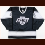 1989-90 Jim Fox Los Angeles Kings Game Worn Jersey