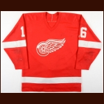 1980's Dale Krentz Adirondack Red Wings Game Worn Jersey