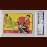 Dennis Hull 1968 OPC - Chicago Blackhawks - Autographed - PSA/DNA