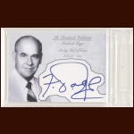 Fredrick Page Autographed Card - The Broderick Collection - Deceased