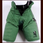 Early 2000's Chad Mazurak University of North Dakota Green Bauer Game Worn Pants