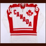 1974 Bobby Hull WHA Team Canada Authentic Jersey