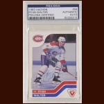 Ryan Walter 1983 Vachon - Montreal Canadiens - Autographed - PSA/DNA