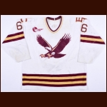 Early 1990's Rob Canavan Boston College Game Worn Jersey