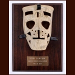 Terry Sawchuk Replica Limited Edition Goalie Mask Display - #11 of 103