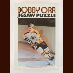 Early 1970's Bobby Orr Boston Bruins Jigsaw Puzzle - Complete - 500-pieces - 16x20