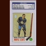 Mike Walton 1969 Topps – Toronto Maple Leafs - Autographed – PSA/DNA