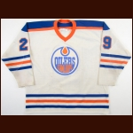 1983-84 Daryl Reaugh Kamloops Junior Oilers Game Worn Jersey