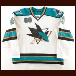 2011-12 Jason Demers San Jose Sharks Game Worn Jersey – Photo Match