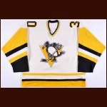 1981-82 Gary Edwards Pittsburgh Penguins Game Worn Jersey - Last NHL Jersey