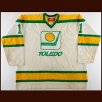 1978-79 Tony Piroski Toledo Goaldiggers Game Worn Jersey