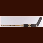 "Lorne ""Gump"" Worsley Minnesota North Stars Sher-Wood Game Used Stick – Autographed – Deceased"