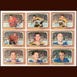1966-67 Topps Autographed Card Group of (51) – Includes Hall of Famers and Deceased