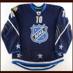 "2010-11 Patrick Sharp NHL All Star Game Issued Jersey – ""2011 NHL All Star"" – 2011 All Star Game MVP"