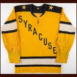 1963-65 Frank Crawford Syracuse Stars Game Worn Jersey