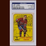 Ted Harris 1967 Topps – Montreal Canadiens – Autographed – PSA/DNA
