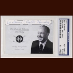 Bill Hanley Autographed Card - The Broderick Collection - Deceased