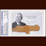 William Northey Autographed Card - The Broderick Collection - Deceased