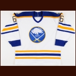 1987-88 Phil Housley Buffalo Sabres Game Worn Jersey