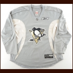 Late 2000's Pittsburgh Penguins Practice Worn Jersey