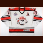 "1994-95 Mike Boback Portland Pirates Game Worn Jersey – ""Calder Cup Champions"""