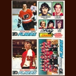 1977-78 Topps Philadelphia Flyers Autographed Card Group of 22 – Rick MacLeish, Ross Lonsberry & Fred Shero (Deceased)