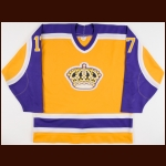 1987-88 Jimmy Carson Los Angeles Kings Game Worn Jersey - 55-Goal & 107-Point Season