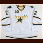 2008-09 Landon Wilson Dallas Stars Game Worn Jersey