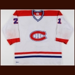1978-79 Doug Jarvis Montreal Canadiens Stanley Cup Finals Game Worn Jersey – Stanley Cup Season - Photo Match