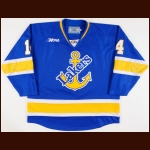 2013-14 Stephen Perfetto Lake Superior State University Game Worn Jersey