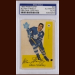 Allan Stanley 1959 Parkhurst – Toronto Maple Leafs - Autographed – Deceased – PSA/DNA