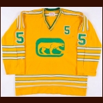 1973-74 Jim Watson WHA Chicago Cougars Game Worn Jersey & Socks