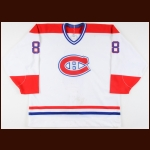 1989-90 Steve Martinson Montreal Canadiens Game Worn Jersey