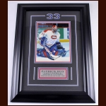 Patrick Roy Montreal Canadiens Autographed Photo – Matted and Framed