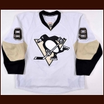 2009-10 Pascal Dupuis Pittsburgh Penguins Game Worn Jersey – Photo Match – Team Letter