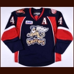 2008-09 Jonathan Ericsson Grand Rapids Griffins Game Worn Jersey